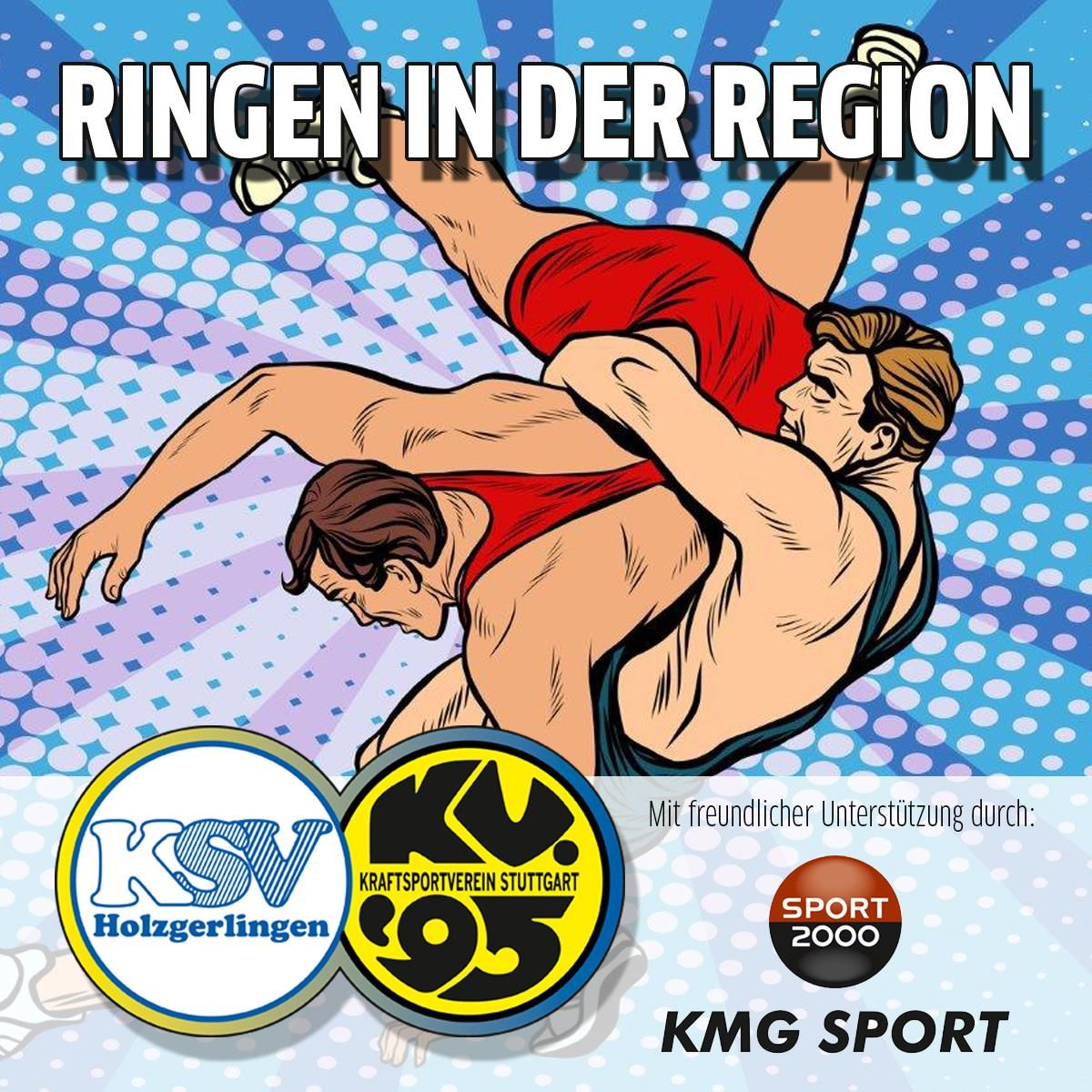 Ringen in der Region